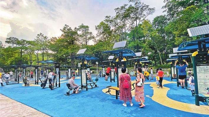 """龙岗高标准打造一批市民喜爱的身边公园 """"公园+""""铺展宜居城区大美画卷"""