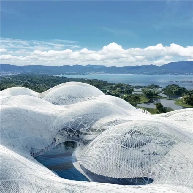 """""""海上的云""""在大鹏新区!深圳海洋博物馆建筑方案设计国际竞赛结果揭晓"""