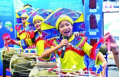 广西南宁:传承优秀文化 分享欢乐假期