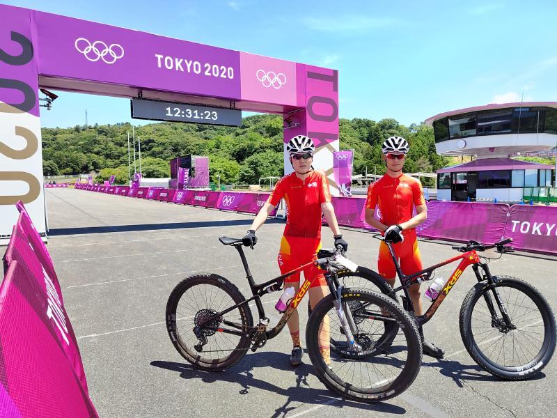 """抵达东京!这辆""""光明造""""自行车将助力中国奥运健儿为国争光"""