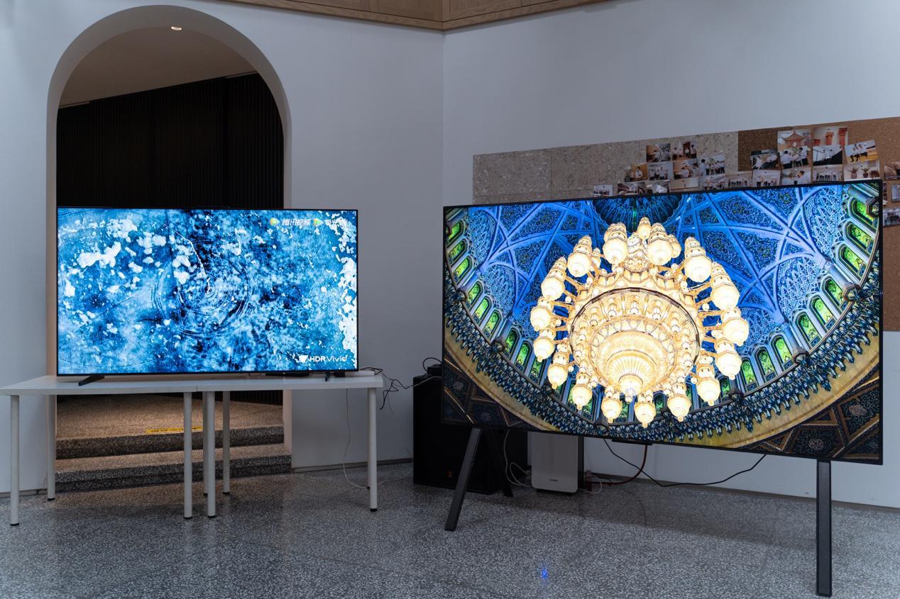 SuperMiniLED+SuperMiniLED+3003000nit超高亮度 华为智慧屏V 75 Super详细评析