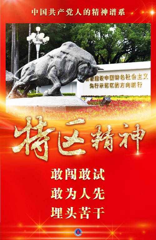 中国共产党人的精神谱系丨春天的故事,不朽的传奇——特区精神述评