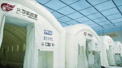 """延时拍摄:35秒还原深圳龙岗""""火眼""""实验室8小时搭建过程"""